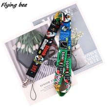 Lanyard Cartoon for Child Friend X1720 Badge Neck-Straps-Accessories Mobile-Phone-Rope-Key