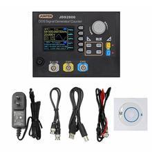 JDS2800-60M 60 МГц генератор сигналов цифровой контроль двухканальный DDS функция частота генератора сигнала метр произвольной волны