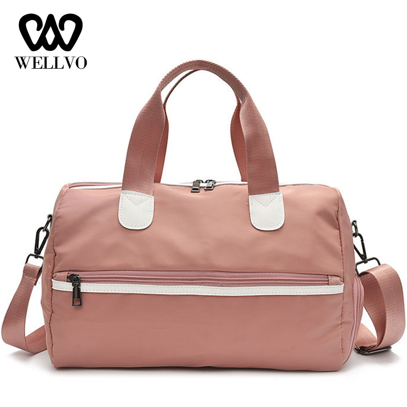 Women Travel Bag For Gym Duffel Luggage Shouder Bag High Quality Waterproof Big Outdoor Traveling Bags With Shoes Pocket XA797WB