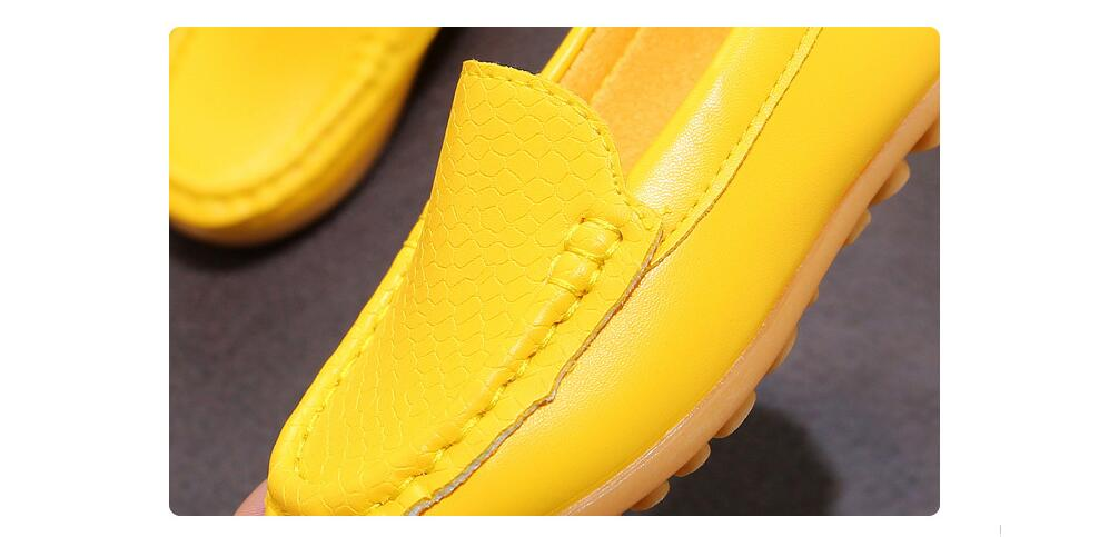 H904ff42a4efa461b8ac00900b5a89c08T - 12 Colors All Sizes 21-36 Children Shoes PU Leather Casual Styles Boys Girls Shoes Soft Comfortable Loafers Slip On Kids Shoes