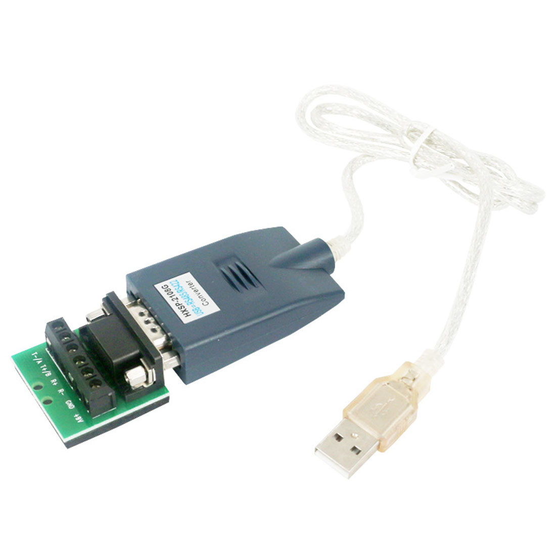 USB 2.0 to RS-485/422/232 DB9 COM Serial Cable Converter Adapter FTDI Chip Industrial 400W Lightning Protection 70cm image