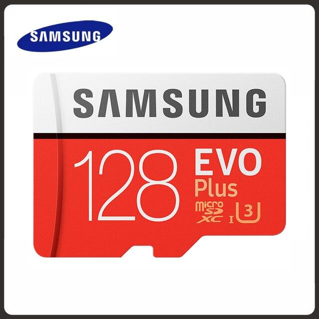 Original SAMSUNG Micro SD card 32GB Class 10 Memory Card EVO+ EVO Plus microSD 256GB 128GB 64GB 16GB TF Card cartao de memoria 1