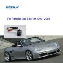 Yessun для Porsche 986 Boxster 1997~ 2004 автомобильная парковочная камера заднего вида HD ночного видения «сделай сам» штекер