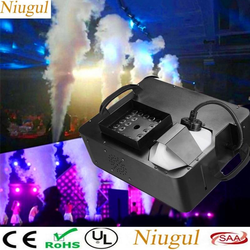 1500W Fog Machine With 24x9W RGB 3in1 LED Lights,DMX512 Wireless Control Vertical Smoke Machine/Mini 500W LED Fog Mcahine,Fogger