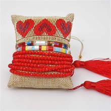 цена Go2boho Tila Beads Bracelet Delica MIYUKI Bracelet Women Summer Pulseras Mujer Moda 2019 Jewelry Bohemian Perles Miyuki Bracelet в интернет-магазинах