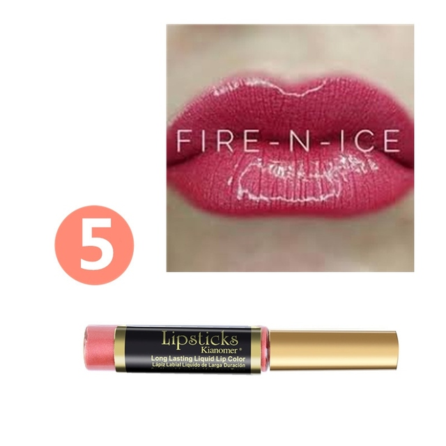 10 Colors Matte Lip Gloss Liquid Lipstick Long Lasting Makeup Moisturizer Lipgloss Make Up Waterproof Pigment Lip Tint W1 5