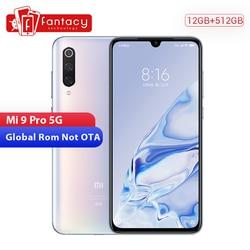 Перейти на Алиэкспресс и купить original xiaomi mi 9 pro mi9 pro (5g) 12gb 512gb smartphone snapdragon 855 plus 4000mah battery 48mp triple cameras 45w charger