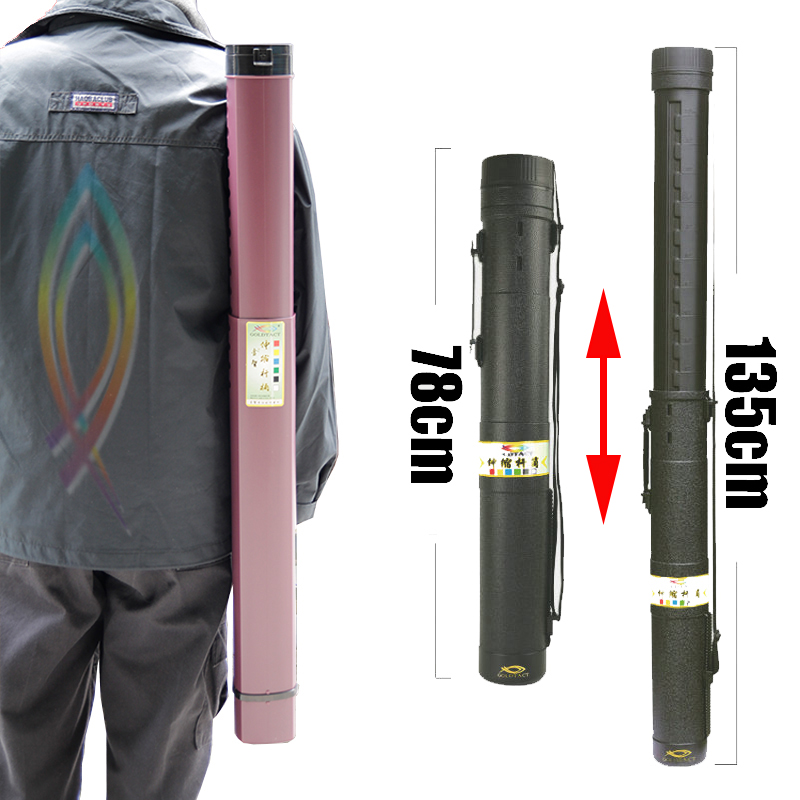 New Type Retractable 78cm to 135cm Fishing Bag High Strength Fishing Rod Bag Fishing Backpack Fishing Gear Bag Fishing Bag