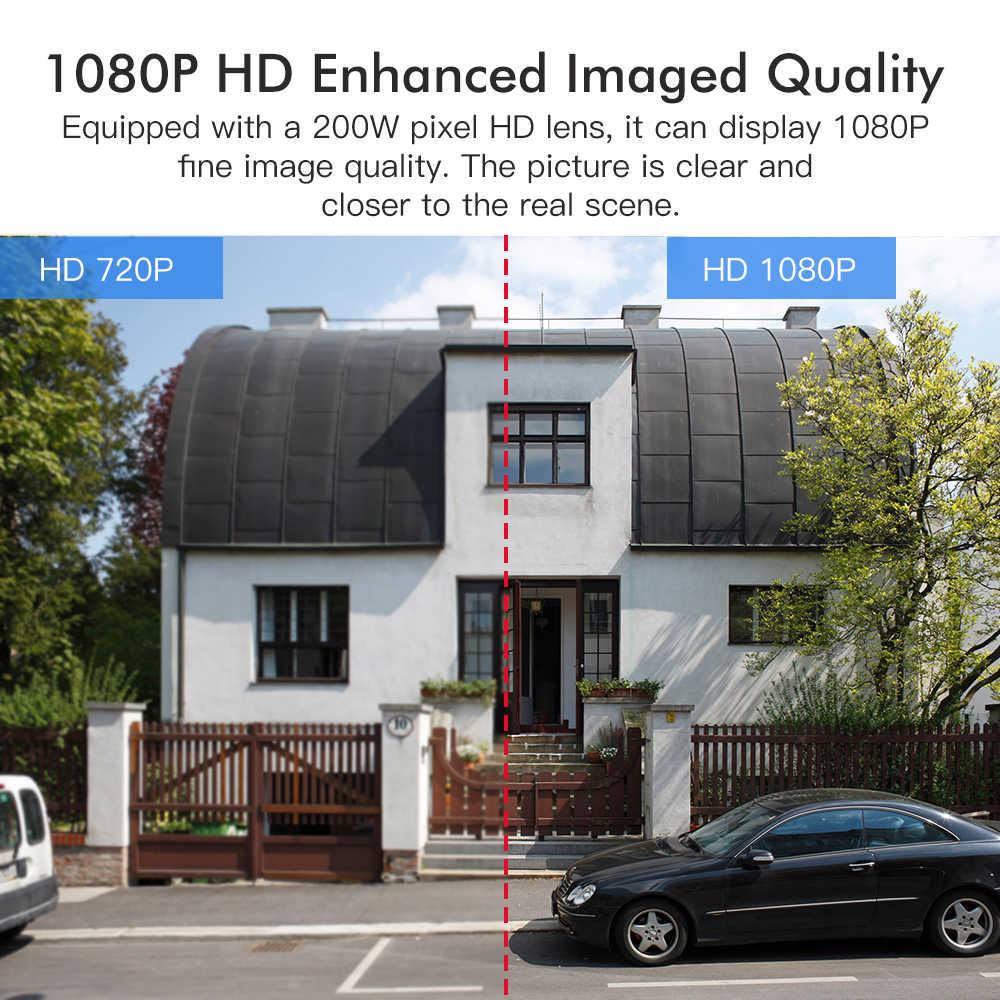 SDETER 1080Pกล้องWIFIกลางแจ้งPTZ Speed Domeกล้องIPไร้สายกล้องวงจรปิดPan Tilt 4XZoom IRเครือข่ายการเฝ้าระวังP2P CAM