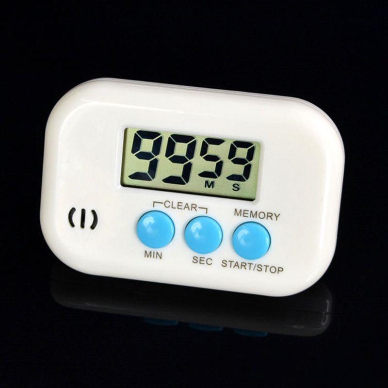 Eletrônico da Cozinha Temporizador Digital Despertador Contagem Regressiva Alimento Cozinhar Cozinha Item D2td