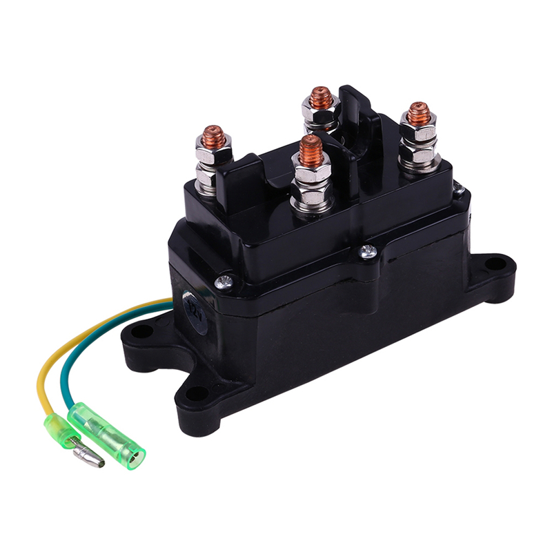 NEW reversing ATV Winch Solenoid Contactor Relay Switch Pump Motor FAST SHIPPING