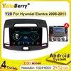 2 Din 9 cali dla Hyundai Elantra 2.5D HD 2008-2010 Radio samochodowe multimedialny odtwarzacz wideo nawigacja GPS Android wsparcie kamery