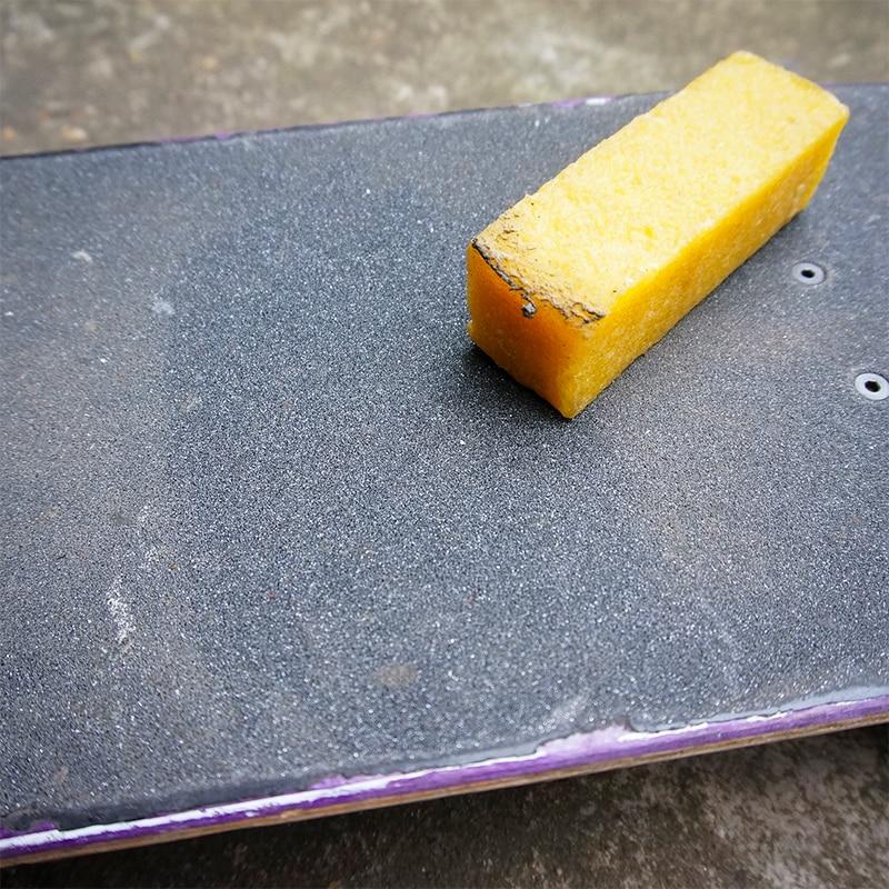 Quality Skateboard Eraser Double Rocker Longboard Sandpaper Cleaner Skate Board Clean Stick Accessories