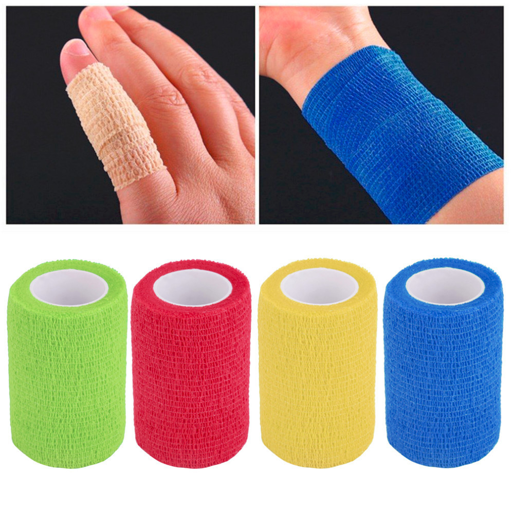 7.5cm*5m Waterproof Bandage First Aid Kit Medical Health Care Treatment Security Bandage Emergency