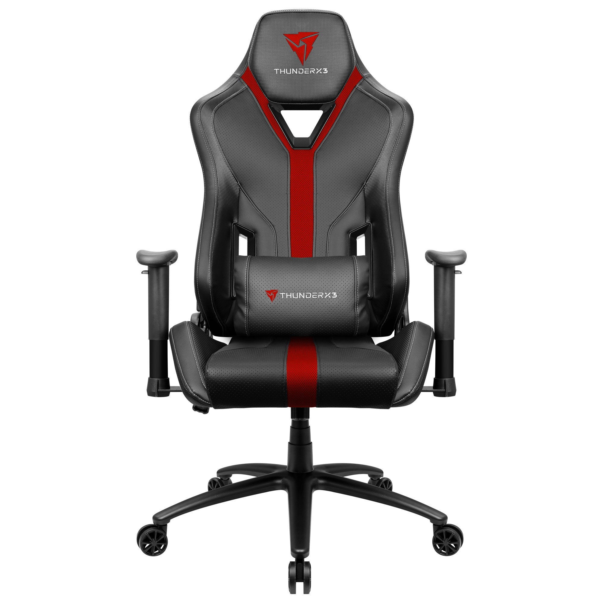 ThunderX3 YC3, Gaming Chair, Technology AIR, Breathable And Adjustable, Red