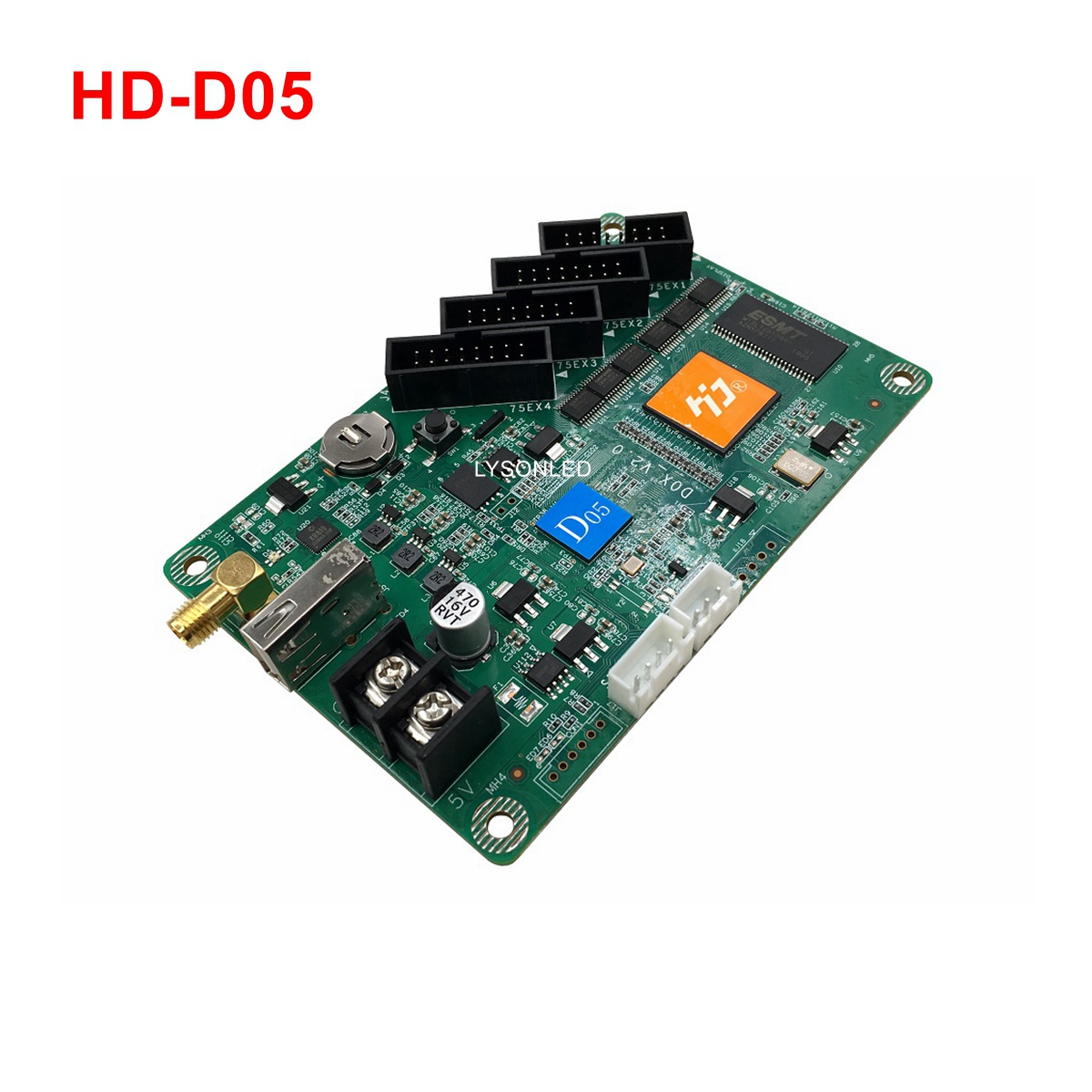 Huidu HD-D05 WiFi Full Color Control Card For Small Door Signboard Screens Wireless Controller