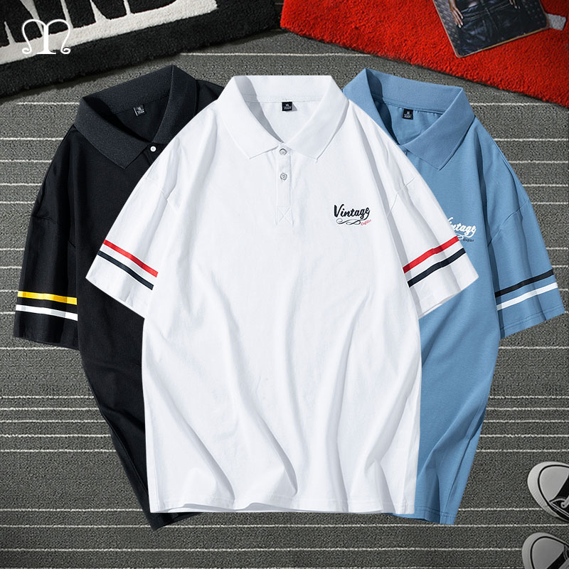 Summer Men Polo Shirt Brand Clothing Pure Cotton Men Business Casual Male Polo Shirt Short Sleeve Breathable Soft Polo Shirt 4XL