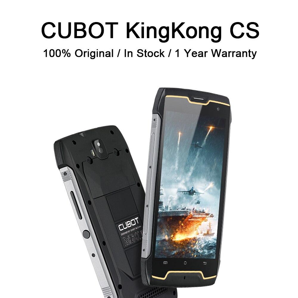 CUBOT Kingkong CS защищенный смартфон ip68 водонепроницаемый ударопрочный 5,0 дюймовый мини-телефон с мощной батареей 4400 мАч спортивные сотовые телеф...