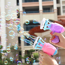 Toys Outdoor-Games Kids Bath-Toy Bubble-Machine Automatic Children Summer Fan for Gift