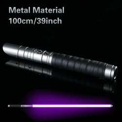 Metal Lightsaber RGB Jedi Sith Saber Light Force Fx Lighting Heavy Dueling Color Changing Sound Foc Lock Up Metal Handle