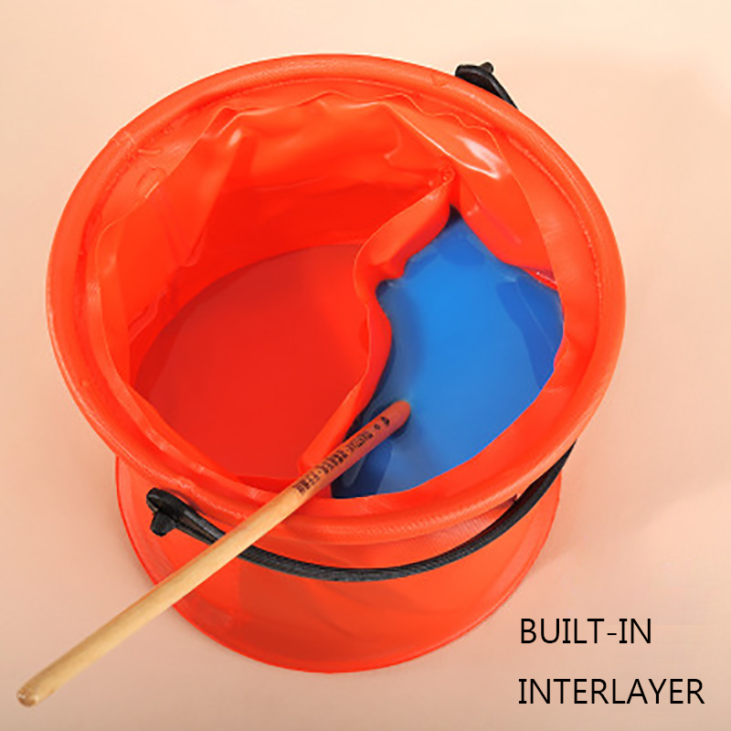 Pen Washing Bucket Folding Bucket Multifunctional Portable Large Capacity Toning Bucket Gouache Watercolor Paint