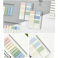 10/20 Sheets PET Planner Stickers Index Tabs Bookmark Sticky Notes Page Marker