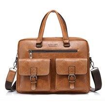 Briefcase Bags for Men Business Fashion Office Handbags Messenger Bag Men's Briefcase 14' Laptop Bag Bags Shoulder Bags for Men