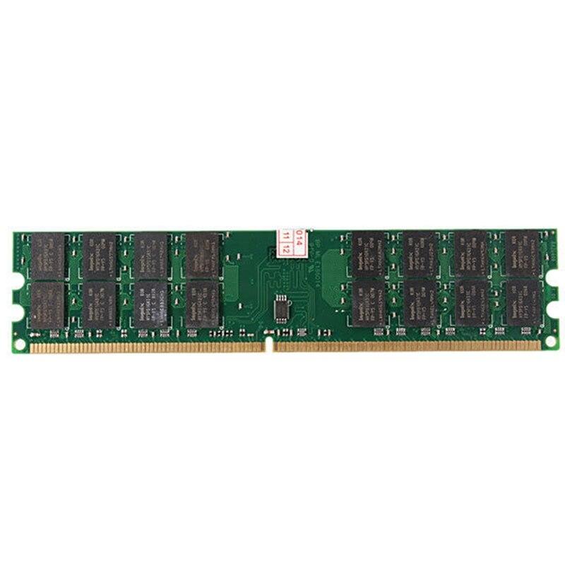 FFYY-Memoria de 4GB de RAM DDR2 800MHZ PC2-6400 240 Pin DIMM sobremesa AMD placa base Kembona original chips marca PC de escritorio DDR2 1 GB/2 GB/4 GB 800 MHz/667 MHz/533 MHz DDR 2 DIMM-240-Pins escritorio memoria Ram