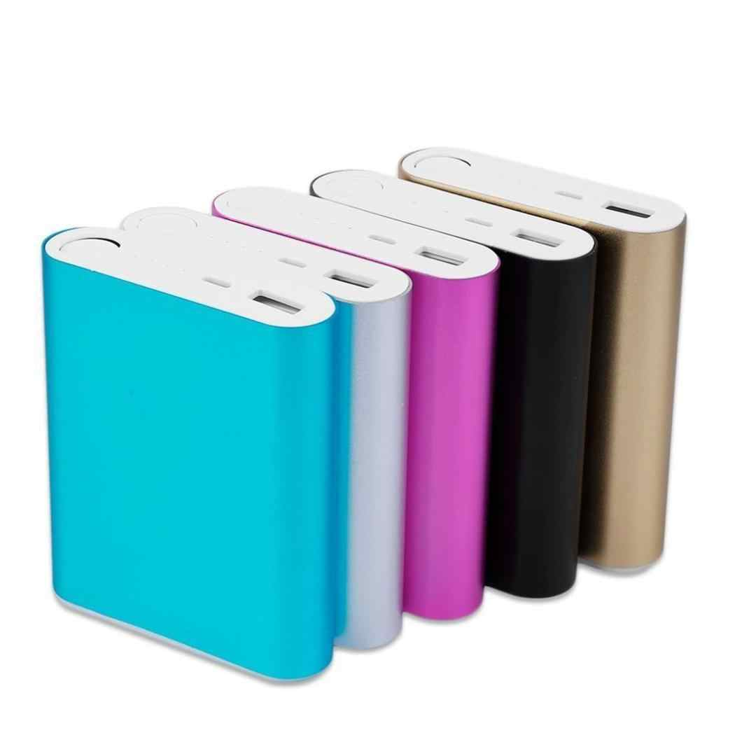 Hot Selling Power Bank Case 18650 Battery Charger Box 5 Colors DIY Case Kit One USB (No battery)