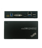 Origi USB 3.0 Pro DK1522 Dock Station For Lenovo Thinkpad With usb serise laptop docking station 03X7130 / 90 New