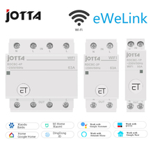 Jotta WiFi Circuit Breaker Remote Control by eWeLink Voice Control With Amazon Alexa and Google Home  RDCBC 1P 2P 4P