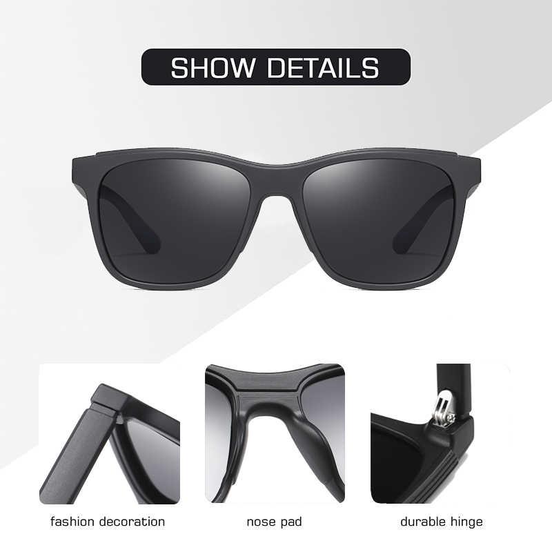 Aofly design da marca 2020 polarizado óculos de sol dos homens tr90 quadro moda espelho de condução óculos de pesca masculino zonnebril heren uv400