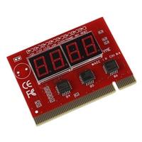4 Digit PC Mainboard POST Diagnostic Analyzer Test Card Placa base de portátil     -