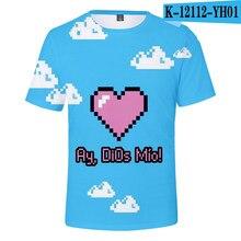 Moda karol g 3d impresso t-shirts mulheres/homens verão manga curta tshirts jovens barato casual criança kpop roupas