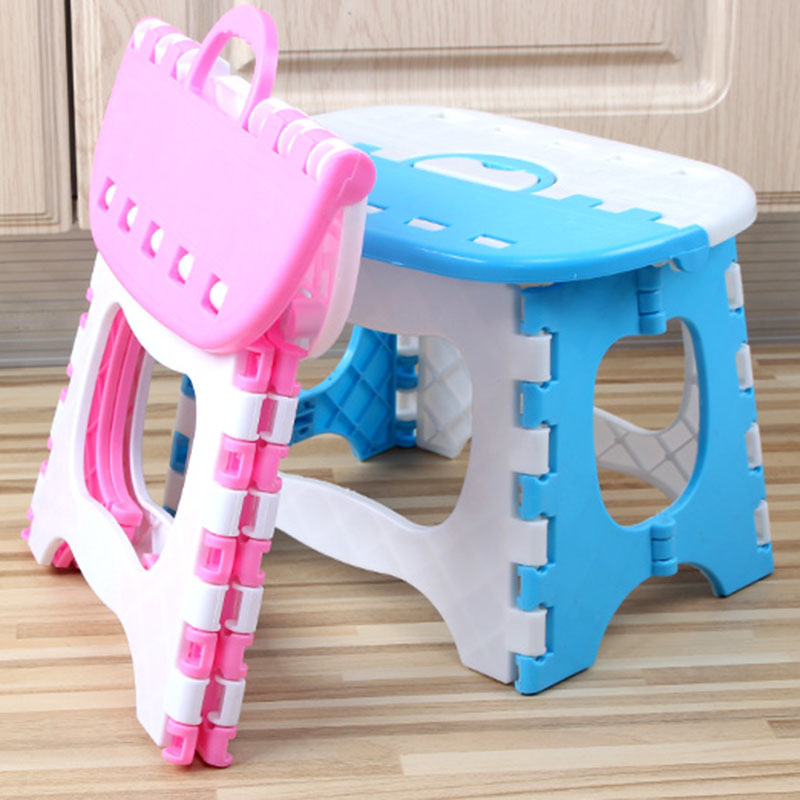 Folding Step Stool Lightweight Sturdy Support Adults Kids For Kitchen Bathroom Bedroom BJStore