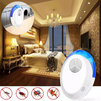 Hiyork Ultrasonic Mosquito Killer Lamp rat repellent household multifun electronic mosquito repellent cockroach insect repellent фото