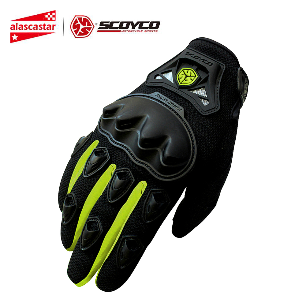 <font><b>SCOYCO</b></font> <font><b>Motorcycle</b></font> <font><b>Gloves</b></font> Summer Breathable Guantes Moto <font><b>Gloves</b></font> Motorbike <font><b>Gloves</b></font> Touch Function Racing <font><b>Gloves</b></font> Motocross Off-Road image