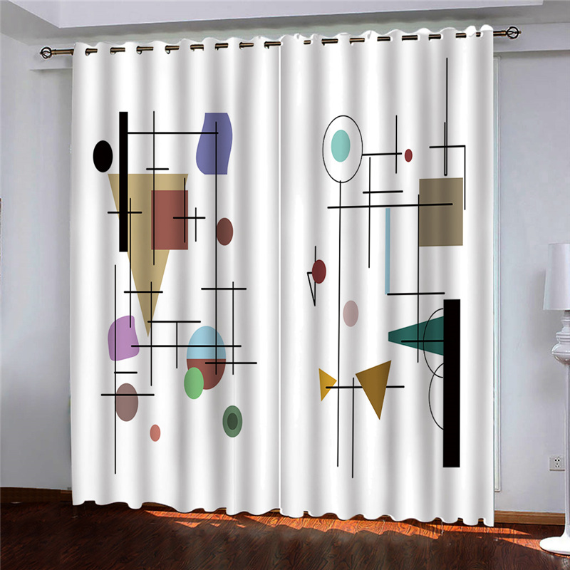 Permalink to Window Luxury Curtains For Living Room Bedroom 3D Brick Wall Decor Room Curtains For Window Treatments