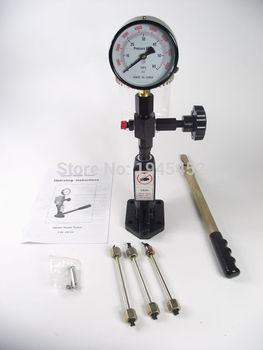 Manual diesel booster pumpS60H Common rail diesel Injector nozzle validator fuel nozzle Injector tester good quality,