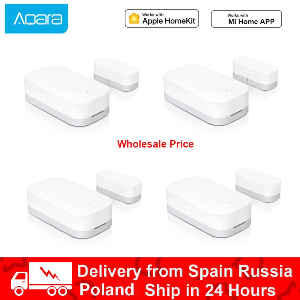 100% Original Hot Aqara Door Window Sensor Zigbee Wireless Connection Smart Door Sensor Work With Android IOS App Control