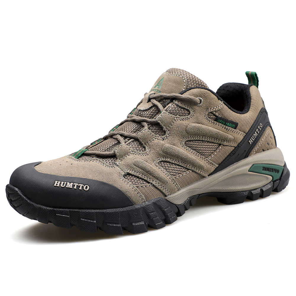 HUMTTO Men's Leather Outdoor Hiking