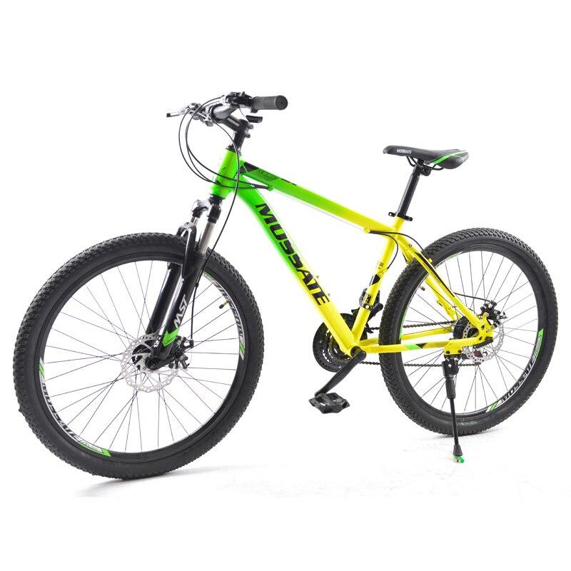 Горный велосипед для взрослых, 21 скорость, 26 дюймов, для мужчин и женщин, амортизация ударов, регулируемая скорость, 26*2,125