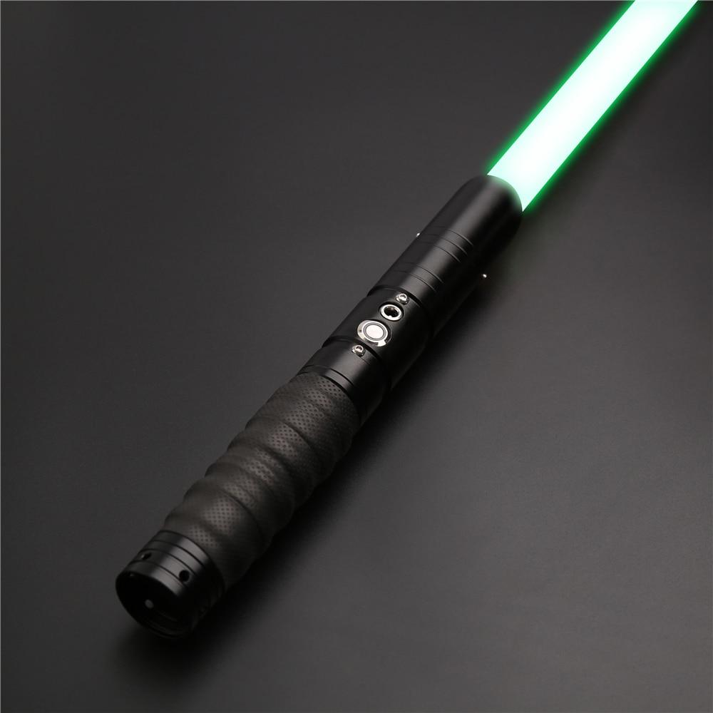 X-TREXSABER Light saber RGB FOC and Blaster for Skywalker 6 Sound Fonts Color Changing 7/8 Inch Diameter Metal Combat Sword