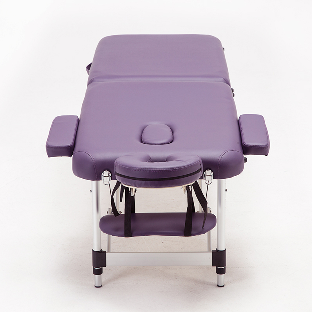 60CM Adjustable Massage Table Made Of PVC Leather And Aluminum alloy leg For Spa Tattoo 4