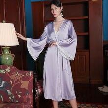 Пижамный комплект maison Габриэль кружевной Лавандовый фиолетовый