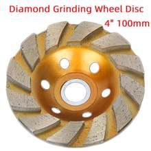 Disque de meulage en diamant en forme de bol, coupe, pierre, béton, granit, céramique, outils électriques 4