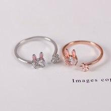 Богемный стиль простое женское кольцо мультяшное стразы животное
