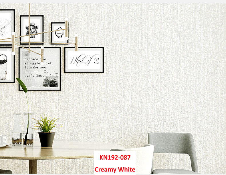Creamy White,multiple Color Wall Paper Modern Design  Home Decoration Sticker  Host Sell Living / Guest Room , DIY  Decoration