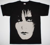 SIOUXSIE AND THE BANSHEES SIOUX FACE POST PUNK GOTHIC THE CURE NEW BLACK T SHIRT Summer O Neck Tee,100% Cotton Classic tee