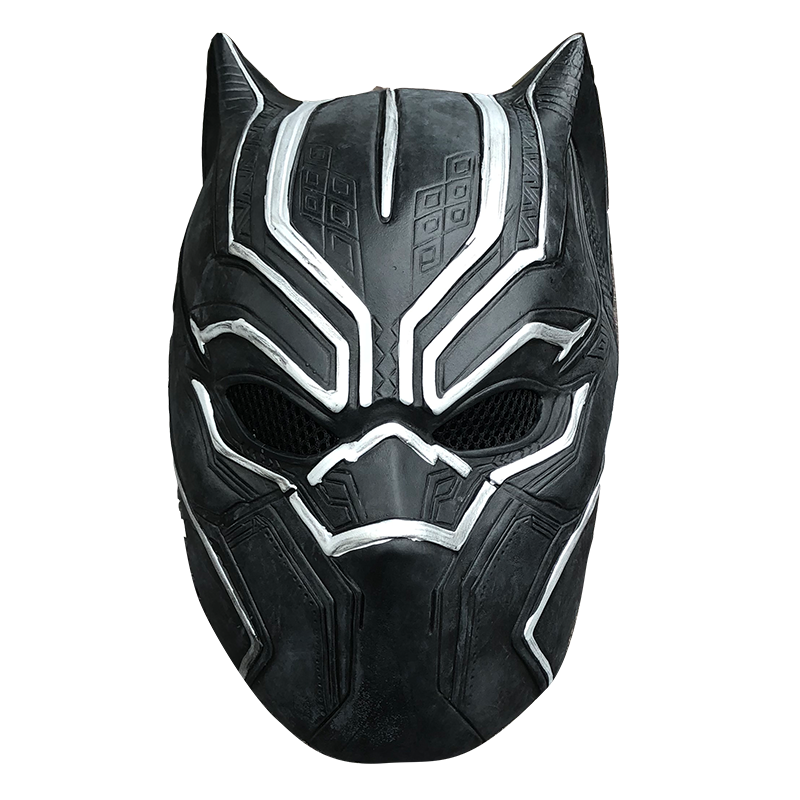 New 2018 Black Panther Costume Jumpsuits Boys Men  Movie Captain America Cosplay Male Clothing Bodysuit Halloween Costumes 6